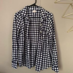 J CREW Buttonup Long Sleeve Checkered Shirt